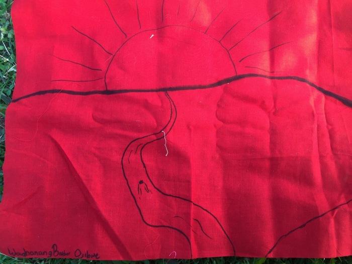 flags at harmony park - 14