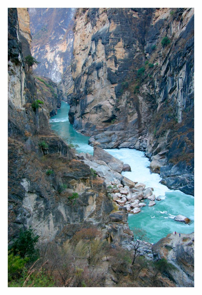 middle tiger leaping gorge digigraphic photos