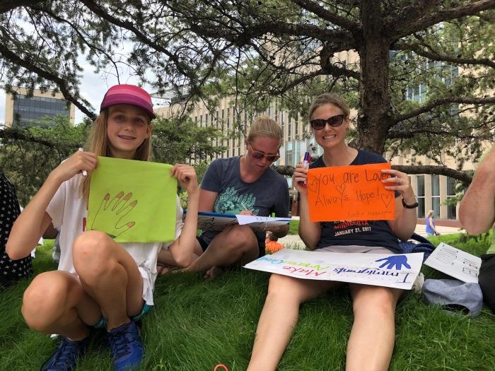 Prayer Flags for Immigrant Children 6-18 Minneapolis - 25