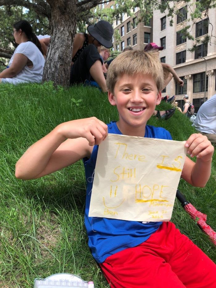 Prayer Flags for Immigrant Children 6-18 Minneapolis - 30