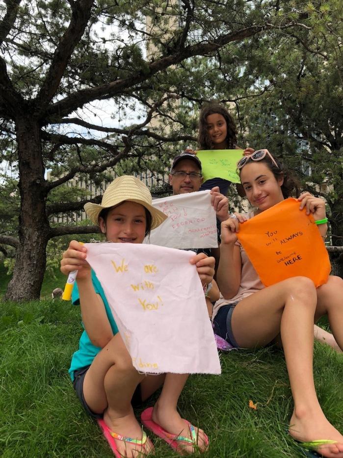 Prayer Flags for Immigrant Children 6-18 Minneapolis - 34